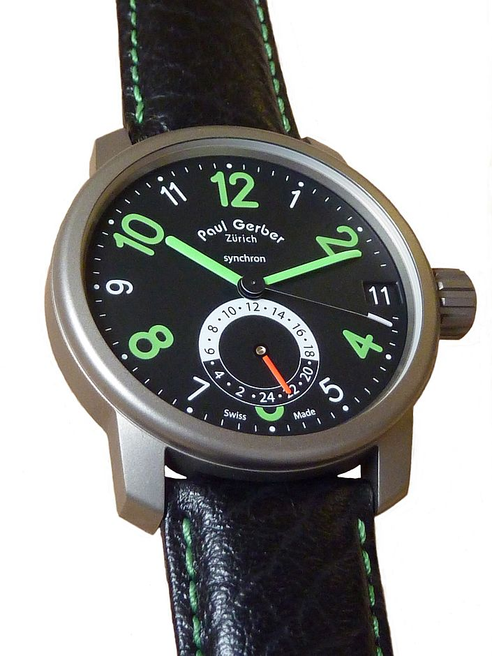 Modell 42   Dual Time (2. Zeitzone)
