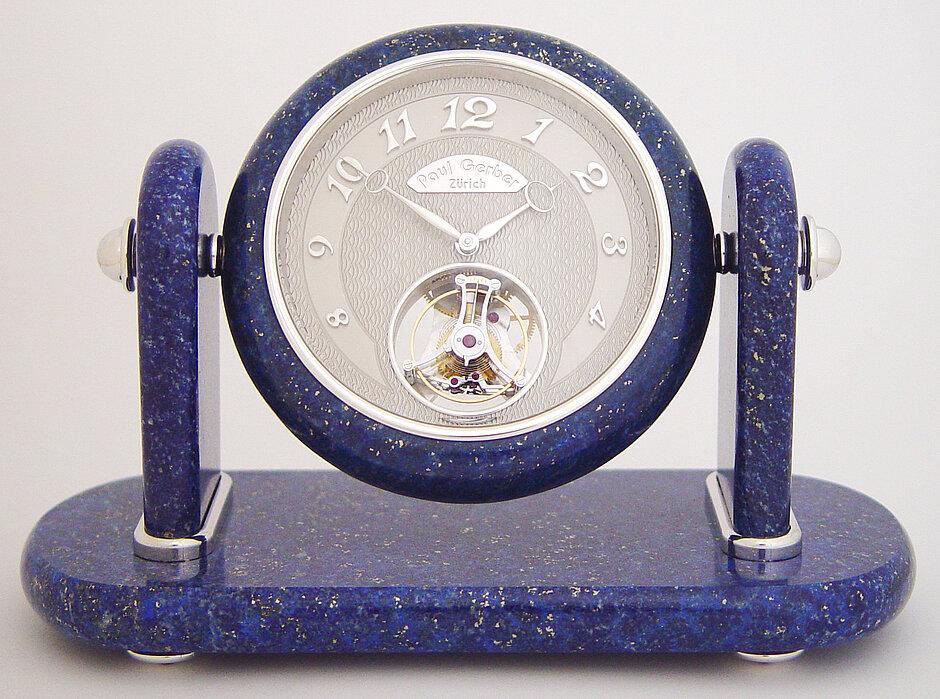 Ref. 251 | mit fliegendem 1 Minuten Tourbillon | Edelsteingehäuse «Lapis Lazuli»