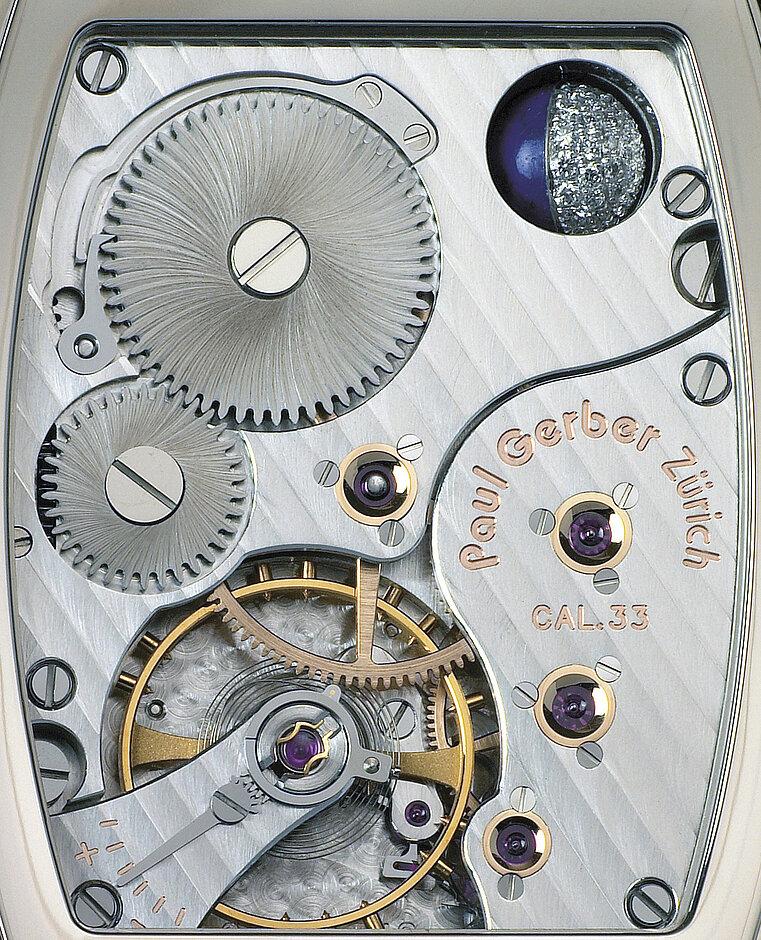 Modell 33 | tonneauförmiges Manufakturwerk