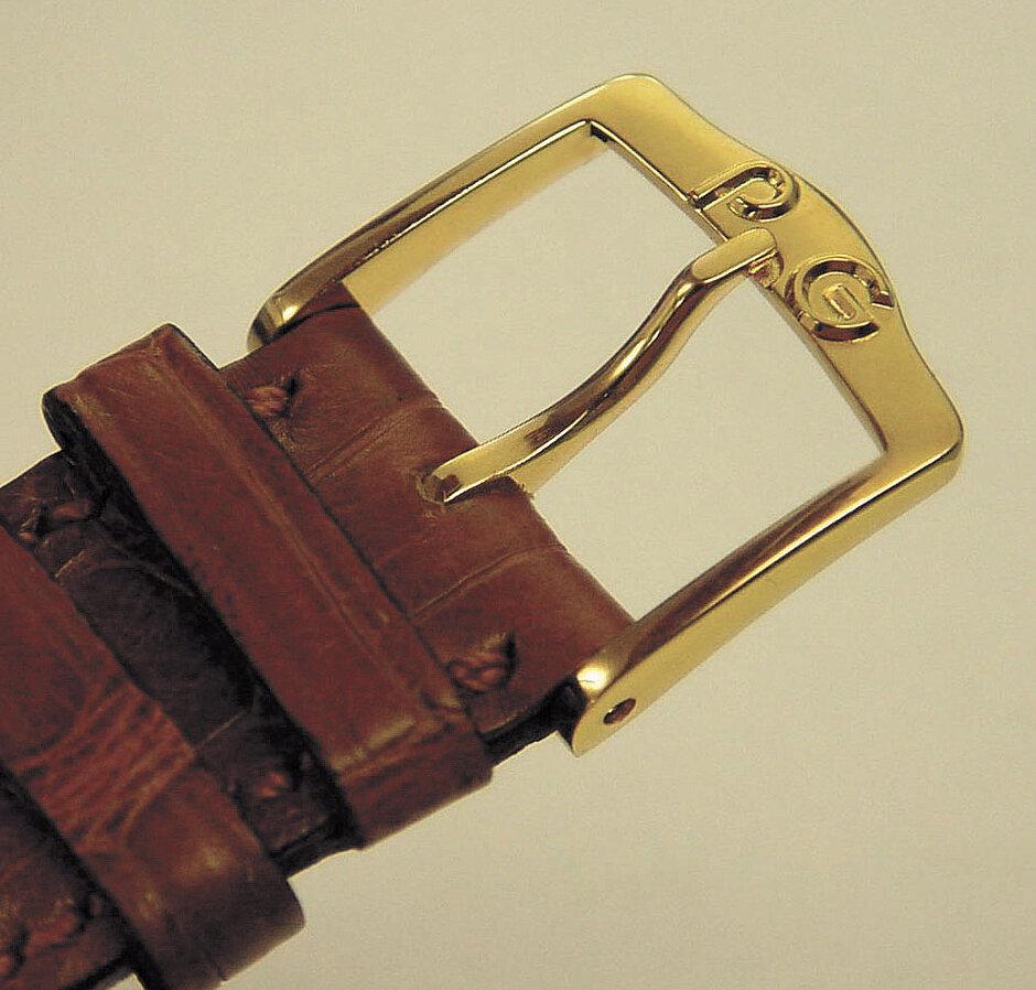 Retrograd | Lederbandschliesse 18 Kt.